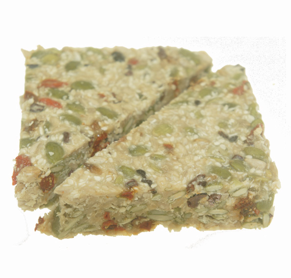 Raw Superfood Tahini Slice