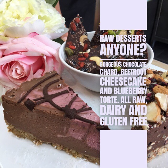 Raw Desserts Workshop